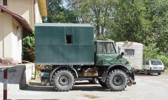 A TCDD Unimog truck