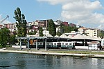 View of the narrow gauge station from the Golden horn. August 2011- Photo JP Charrey