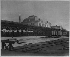 Sikeci station, around 1890
