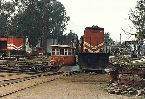 Adana depot turntable. Photo Malcolm Peakman 1998