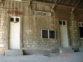 Eğirdir station