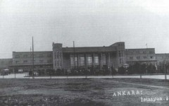 New Ankara station, street side