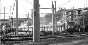 Ankara station track side, 1971 / 72