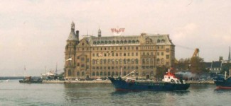 Haydarpasa from the sea, south side