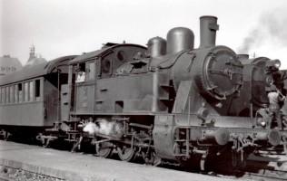 3313 at Haydarpaşa Station 17th April 1956