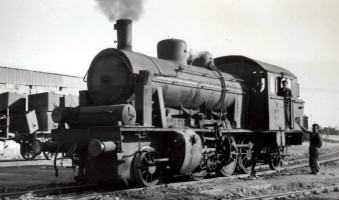 3503 at Mersin, 15th November 1955