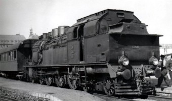 3704 Haydarpaşa Station. 17th April 1956