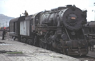 45186 at Kayseri on station pilot duties. 1 April 1974