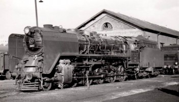 56097 on Ankara Depot. 20th August 1955