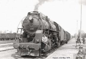56333 (Vulcan Iron Works 1948/4848), Kayseri 2nd May 1974. Photo Benno Bickel