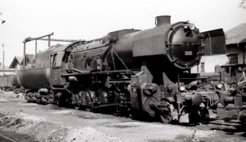 56501 at Yedikule. 26th August 1955