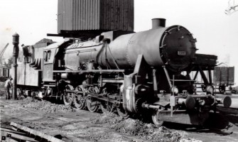 56522 at Konya Depot. 18th April 1956