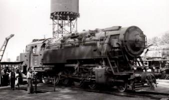 5701 at Bilecik. 15th September 1955