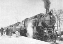 45001 type pulling the Taurus Express in Ankara Station