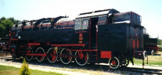 5701 at Çamlik museum; June 2000 after external repairs and repainting. Photo JP Charrey