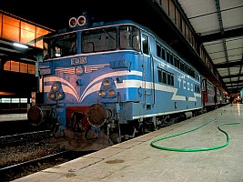 E40007, Istanbul Haydarpaşa, 29-11-2004. Photo & copyright Graham Williams