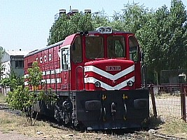 DE24171 at Ankara Marsandiz yard. 4 July 2003. Photo Ergin Tönük