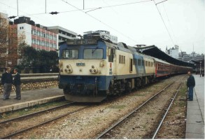 E43023 at Sirkeci. 1999. Photo Malcolm Peakman