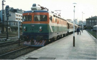 E52503 at Sirkeci. 1999